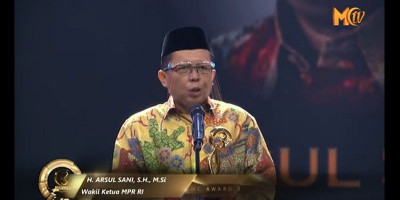 Arsul Sani: Moeslim Choice Award 2020