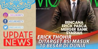 ERICK THOHIR DITARGET BSI MASUK 10 BESAR DI DUNIA