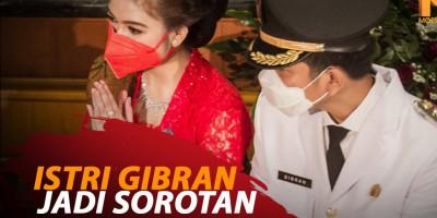 ISTRI GIBRAN JADI SOROTAN
