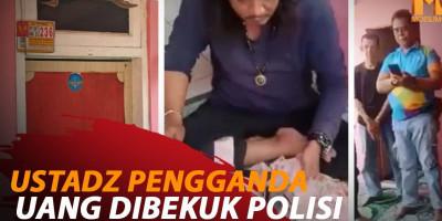 USTADZ PENGGANDA UANG DIBEKUK POLISI
