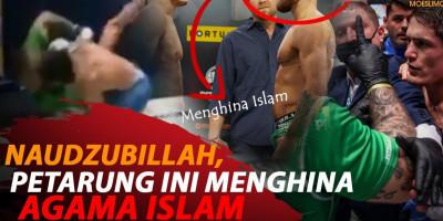 NAUDZUBILLAH, PETARUNG INI MENGHINA AGAMA ISLAM
