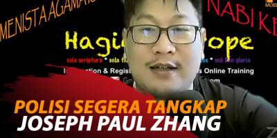 POLISI SEGERA TANGKAP JOSEPH PAUL ZHANG