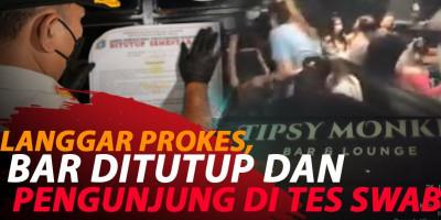 LANGGAR PROKES, BAR DAN LOUNGE DI JAKARTA UTARA DISEGEL