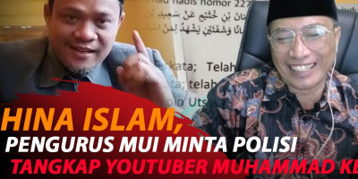 HINA ISLAM, PENGURUS MUI KECAM YOUTUBER MUHAMMAD KECE