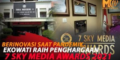KEPSEK SMA NEGERI 1 BEKASI RAIH PENGHARGAAN 7 SKY MEDIA AWARDS 2021