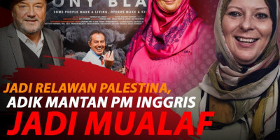 BENCI ISLAM, ADIK MANTAN PM INGGRIS JADI MUALAF